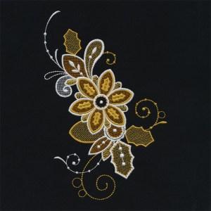 Hydrofolia do haftowania wzorów lace
