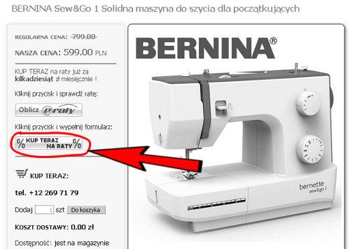 Zakup na raty w Sklepie Internetowym GLOBAR.pl