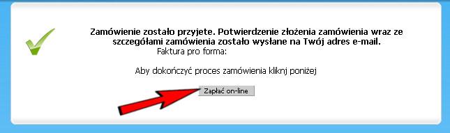 Płatność on-line poprzez Przelewy24