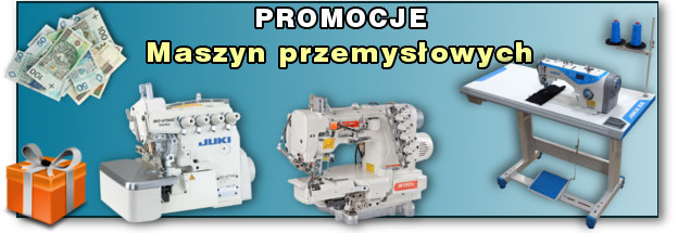PROMOCJE PRZEMYSŁOWYCH MASZYN DO SZYCIA - GLOBAR.pl