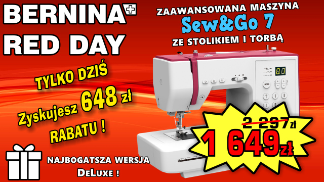 BERNINA RED DAY - SG7