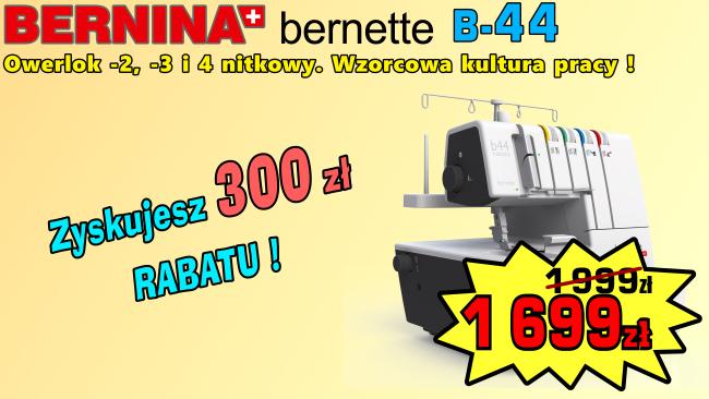 Owerlok BERNINA B-44