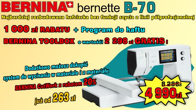 Promocja Hafciakri BERNINA B-70