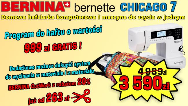 Promocja Hafciakri BERNINA CH-7