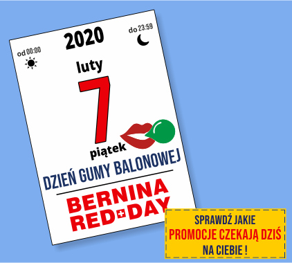 GLOBAR.pl - BERNINA RED DAY