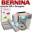 Hafciarka BERNINA Aurora 450 - Embroidery Studio + DP7 CDR