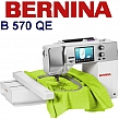 BERNINA B570 QE następca i rozwinięcie hafciarki Aurora 450