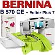 BERNINA 570 QE Embroidery Studio + EP7 CDR otwórz studio haftu!