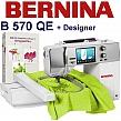 BERNINA B570 QE Embroidery Studio Designer - Kompletne, profesjonalne studio hafciarskie