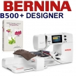 Maszyna do haftu BERNINA B500 Emboridery Studio Designer - Kompletne wyposażenie studia hafciarskiego