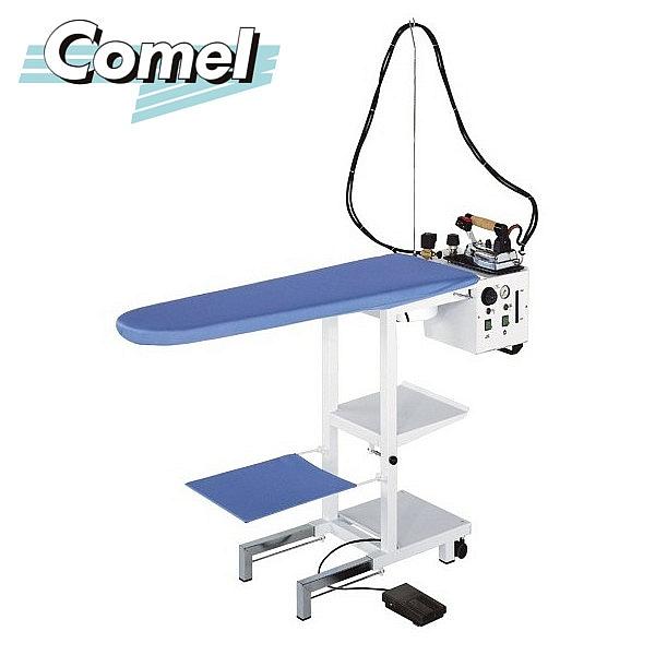 Stół prasowalniczy z wytwornicą pary COMELUX MAXI C5 z żelazkiem i stopą teflonową