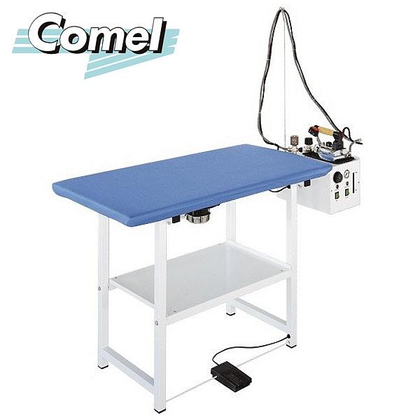 Stół prasowalniczy z wytwornicą pary COMEL FUTURA RC5 z żelazkiem i stopą teflonową