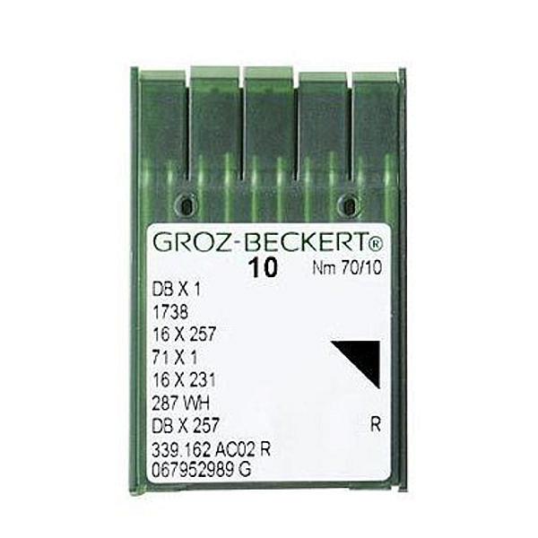 Igły do maszyn szwalniczych GROZ-BECKERT 16 X 231 (Cienka Kolba)