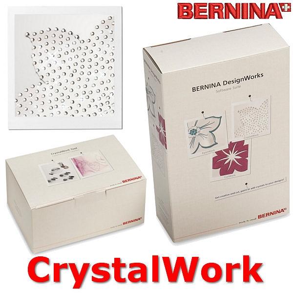 Program BERNINA CrystalWork Ozdabianie projektów za pomocą kryształków Swarovskiego