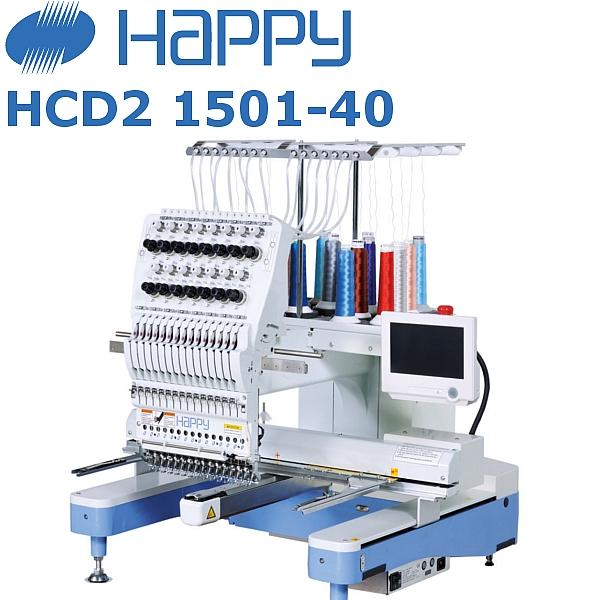 HAPPY HCD2 1501-40 15-igłowa przemysłowa maszyna do haftu Made in Japan