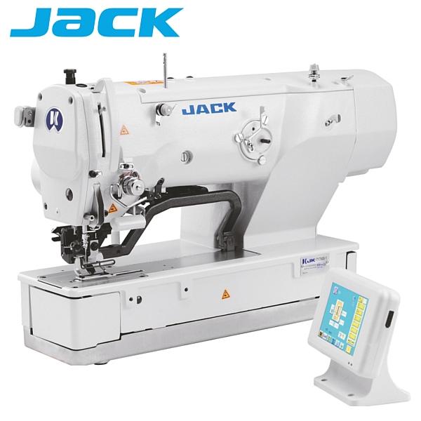 JACK JK-T1790BS-2 Elektorniczna 2 nitkowa dziurkarka bieliźniana