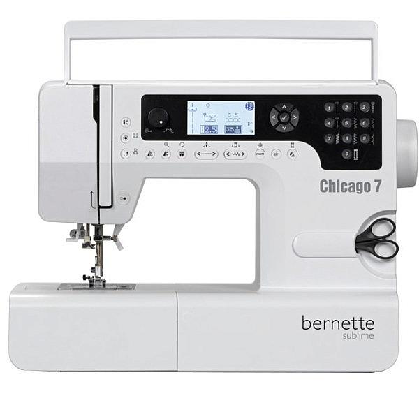 BERNINA AG - Bernette CHICAGO 7 Komputerowa maszyna do szycia i hafciarka + Program do haftu
