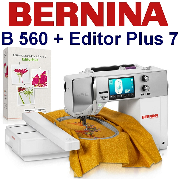 BERNINA B560 Embroidery Studio Editor - Komputerowa hafciarka dla biznesu