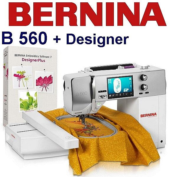 BERNINA B560 Embroidery Studio Desinger - Zestaw do studia hafciarskiego