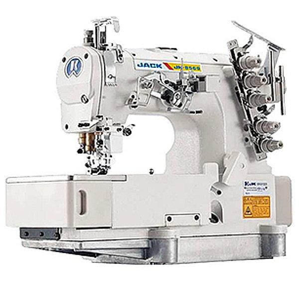 JACK JK-8569 Renderka, 3-igłowa maszyna drabinkowa z silniem DirectDrive
