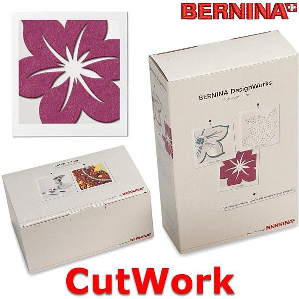 Program BERNINA CutWork wycinanie wzorów i aplikacji w tkaninie