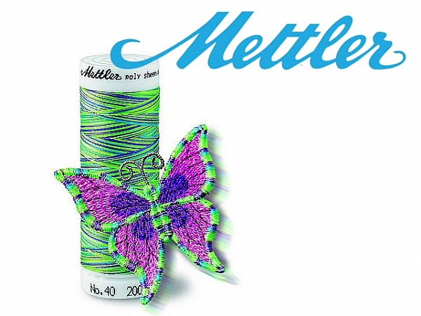 Nici do Haftu Mettler Multicolor 200 m