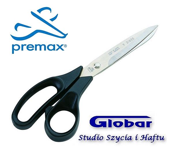 Nożyczki krawieckie Premax 21CM  nylonowe uchwyty SERIE 6, 61720834