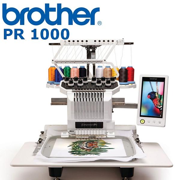 BROTHER PR1050 X  Hafciarka komputerowa dla firm, 10-igłowa profesjonalna maszyna hafciarska