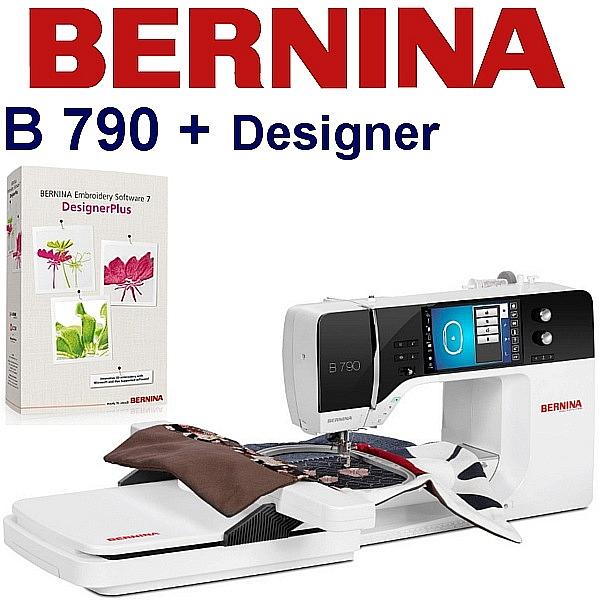 BERNINA B790 Embroidery Stuido Designer - Profesjonalne wyposażenie studia hafciarskiego