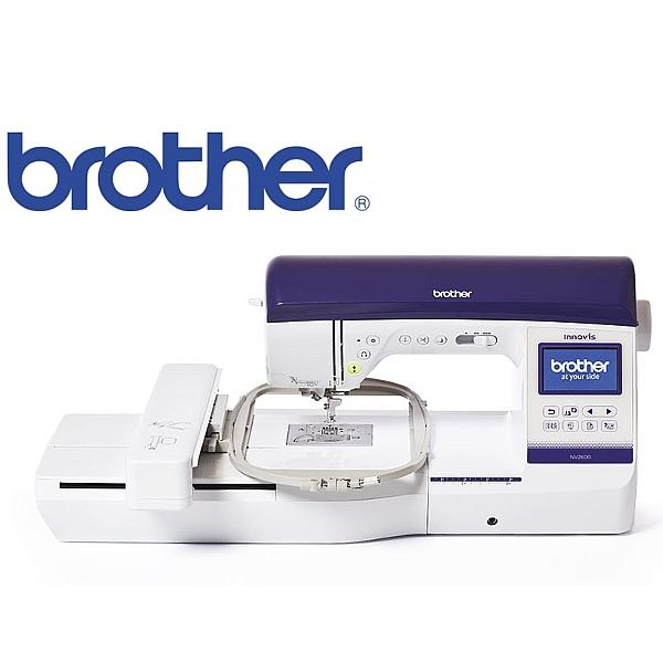 BROTHER NV-2600 Zaawansowana, domowa i hobbystyczna maszyna do haftu i szycia