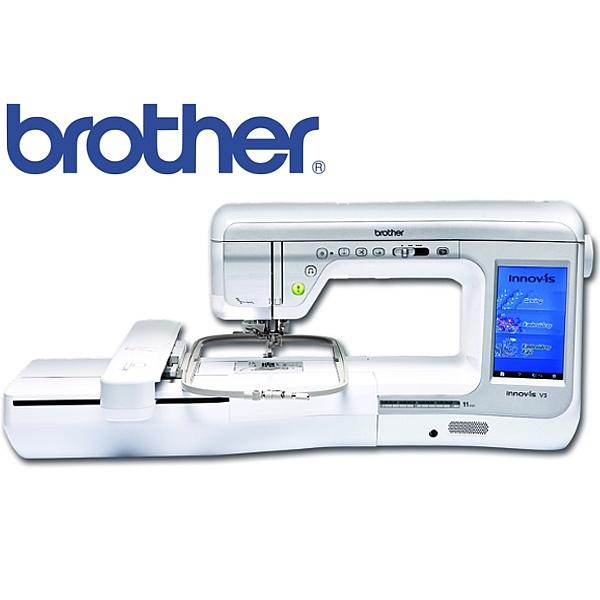 Wspaniały BROTHER V-5 Zaawansowana, pół-profesjonalna, maszyna do haftu i HI58