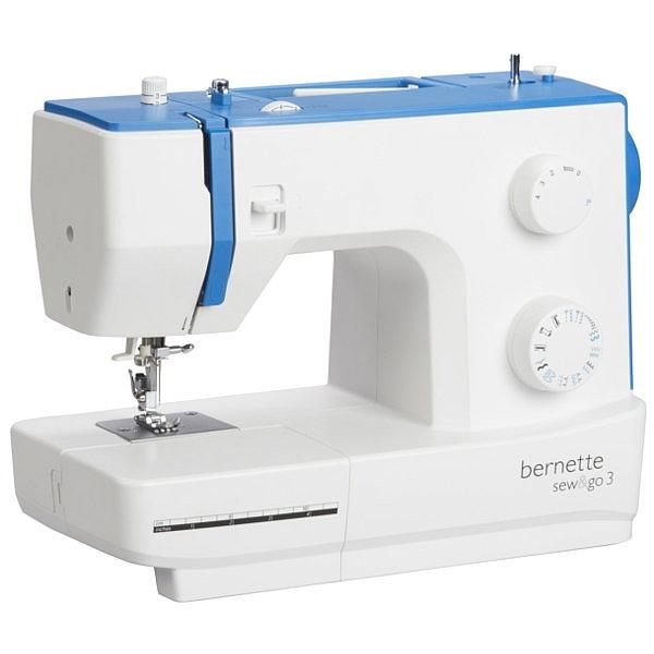 BERNINA Sew&Go 3 Domowa maszyna do szycia, solidna i mocna!