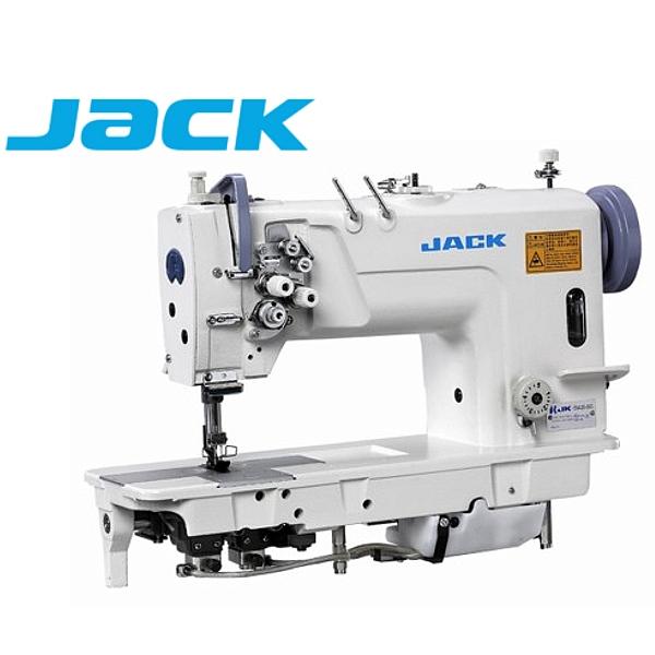 JACK JK-58420-005 Stębnówka 2-igłowa z podwójnym transportem oraz silnikiem energooszczędnym