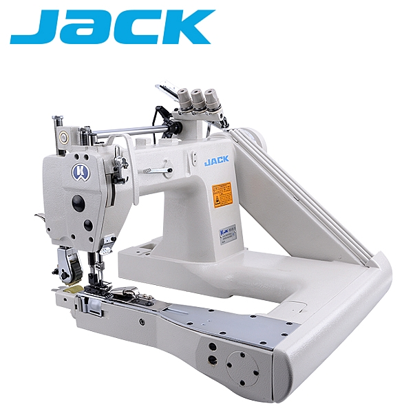 Jack JK-T9270-12-2PL Ramieniówka 2-igłowa, lekkie szycie + puller, silnik energooszczędny