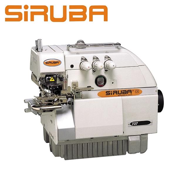 SIRUBA 737FS-504M2-04 Overlock 3 nitkowy, cylindryczne łoże + silnik energooszczędny