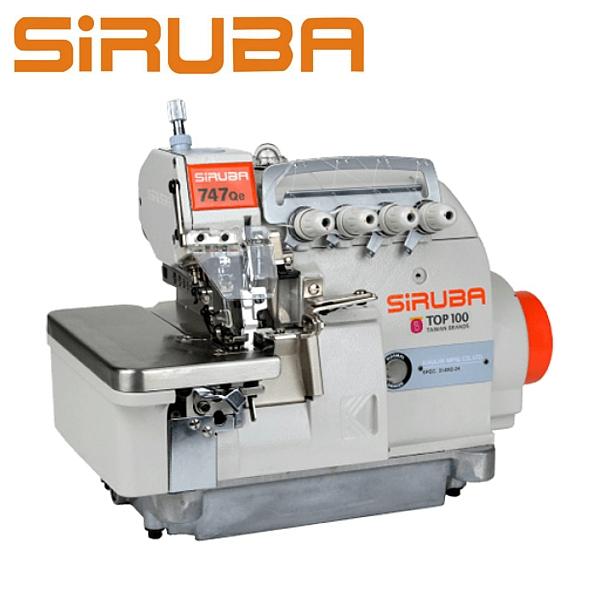 SIRUBA 757Qe-516M2-35 Overlock 5 nitkowy, silnik energooszczędny Direct Drive
