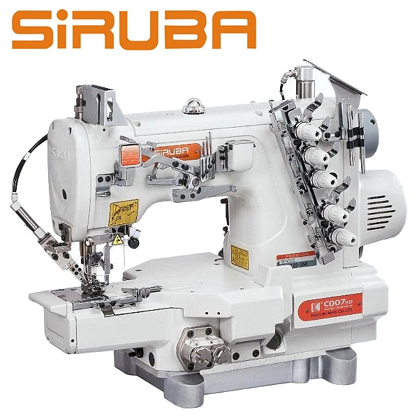 Siruba C007KD-W122-356/CH/UTP Renderka z łożem cylindryczny, silnikiem Direct Drive oraz funkcjami automatycznymi.