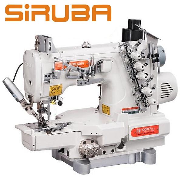 Siruba C007KD-W122-356/CH/UTR Renderka z łożem cylindryczny, silnikiem Direct Drive oraz funkcjami automatycznymi.