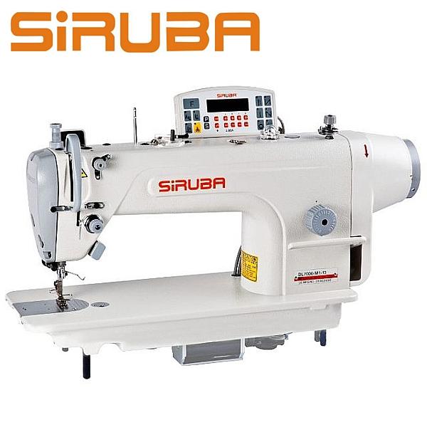 SIRUBA DL7000-RM1-48-13 Stebnówka 1- igłowa z podwójnym transportem i silnikiem DirectDrive + odkrawacz