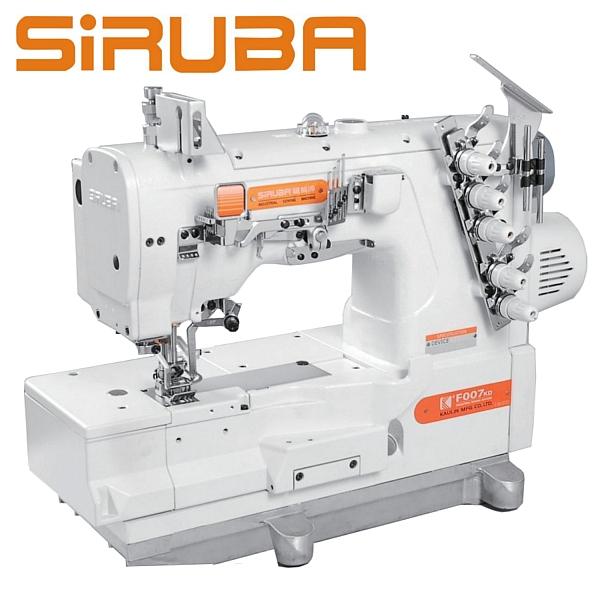 SIRUBA F007KD-W122-356/FFT/FHA Renderka z podwójnym transportem i silnikiem Direct Drive