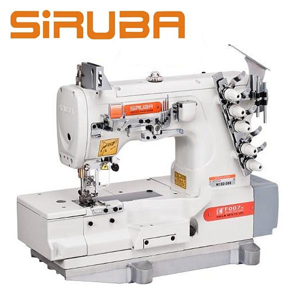 SIRUBA F007K-W122-356/FHA Renderka płaska z silnikiem energooszczędnym !