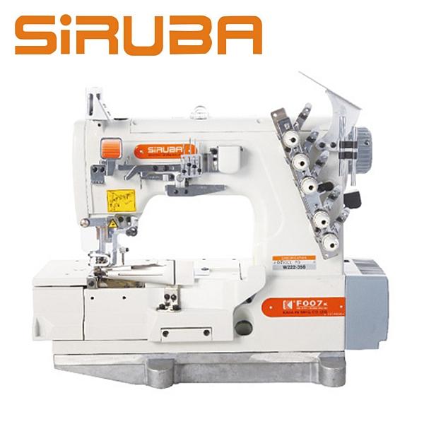 SIRUBA F007K-W222-356/FQ Renderka / Lamowarka z silnikiem energooszczędnym