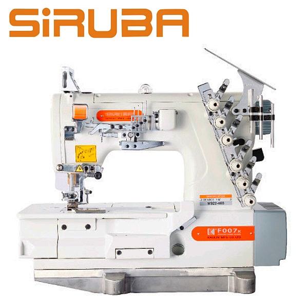 SIRUBA F007K-W922-460/FW Renderka 4 igłowa z silnikiem energooszczędnym !