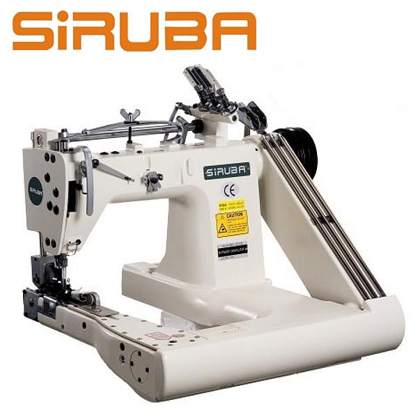SIRUBA FA007-364XL/DP Ramieniówka 3-igłowa, średnie i ciężkie szycie + puller, silnik energooszczędny
