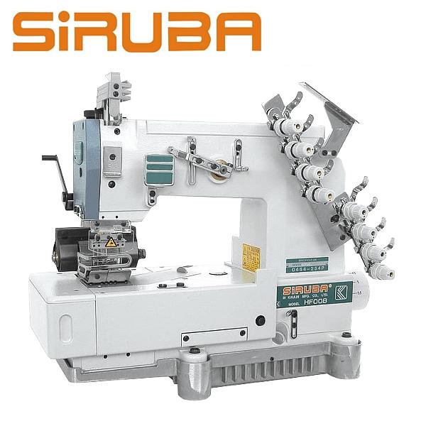 SIRUBA HF008-03064P/HFT Maszyna 3-igłwoa łańcuszkowa, metalowy puller, silnik energooszczędny