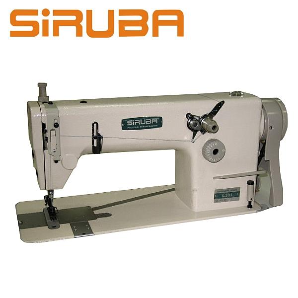 SIRUBA L381 Stębnówka łańcuszkowa 1-igłowa + silnik energooszczędny