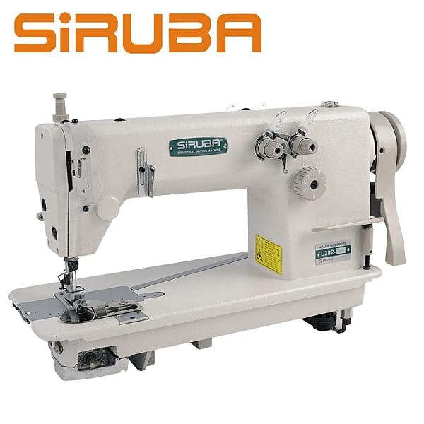 SIRUBA L382-64 Stębnówka łańcuszkowa 2 igłowa + silnik energooszczędny !