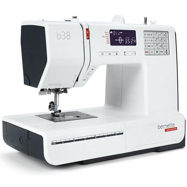 BERNINA B 38 Komputerowa maszyna do szycia z automatycznym obcinaniem nici !