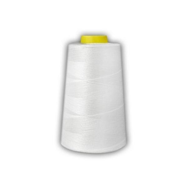 Nitka spodnia do haftowania, kolor biały, 15000 m