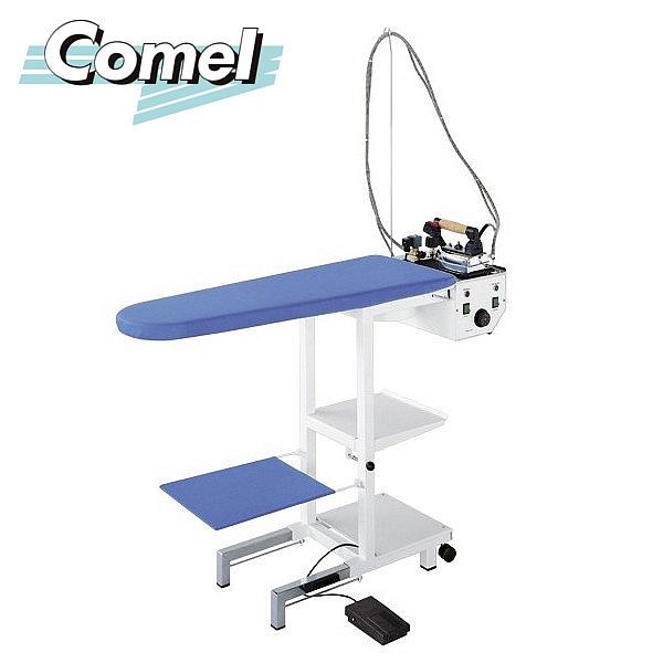 Stół prasowalniczy z wytwornicą pary COMELUX MAXI C3 z żelazkiem i stopą teflonową